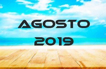 AGOSTO 2019 – Calendario Gare