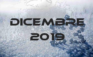 DICEMBRE 2019 – Calendario Gare