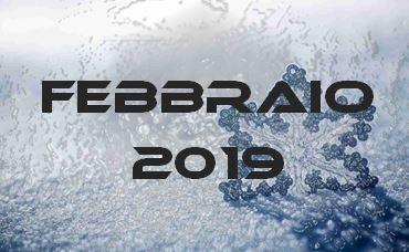 FEBBRAIO 2019 – Calendario gare
