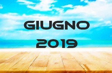 GIUGNO 2019 – Calendario Gare