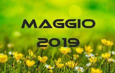 MAGGIO 2019 – Calendario Gare