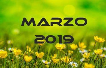 MARZO 2019 – Calendario Gare