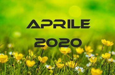 APRILE 2020 – Calendario Gare