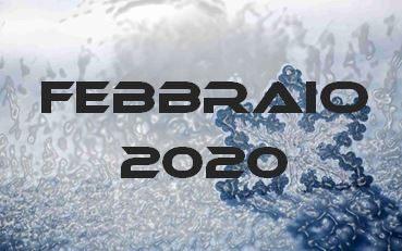 FEBBRAIO 2020 – Calendario Gare