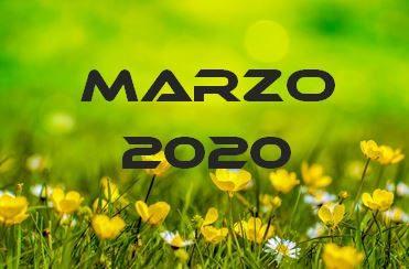 MARZO 2020 – Calendario gare