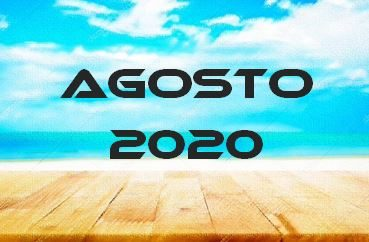 AGOSTO 2020 – Calendario Gare