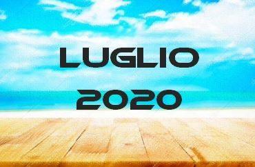 LUGLIO 2020 – Calendario Gare