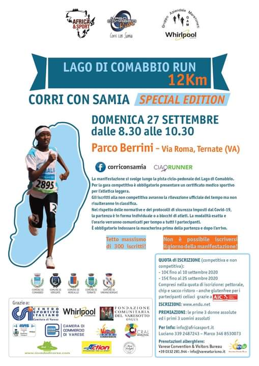 Lago di Comabbio run 12K @ Parco Berrini, Ternate