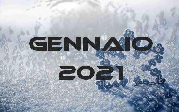 GENNAIO 2021 – Calendario gare