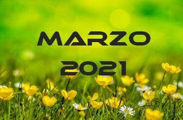 MARZO 2021 – Calendario gare