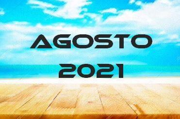 AGOSTO 2021 – Calendario gare