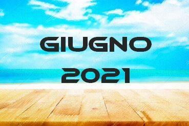 GIUGNO 2021 – Calendario gare