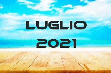 LUGLIO 2021 – Calendario gare