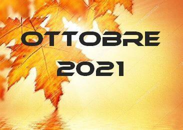 OTTOBRE 2021 – Calendario gare